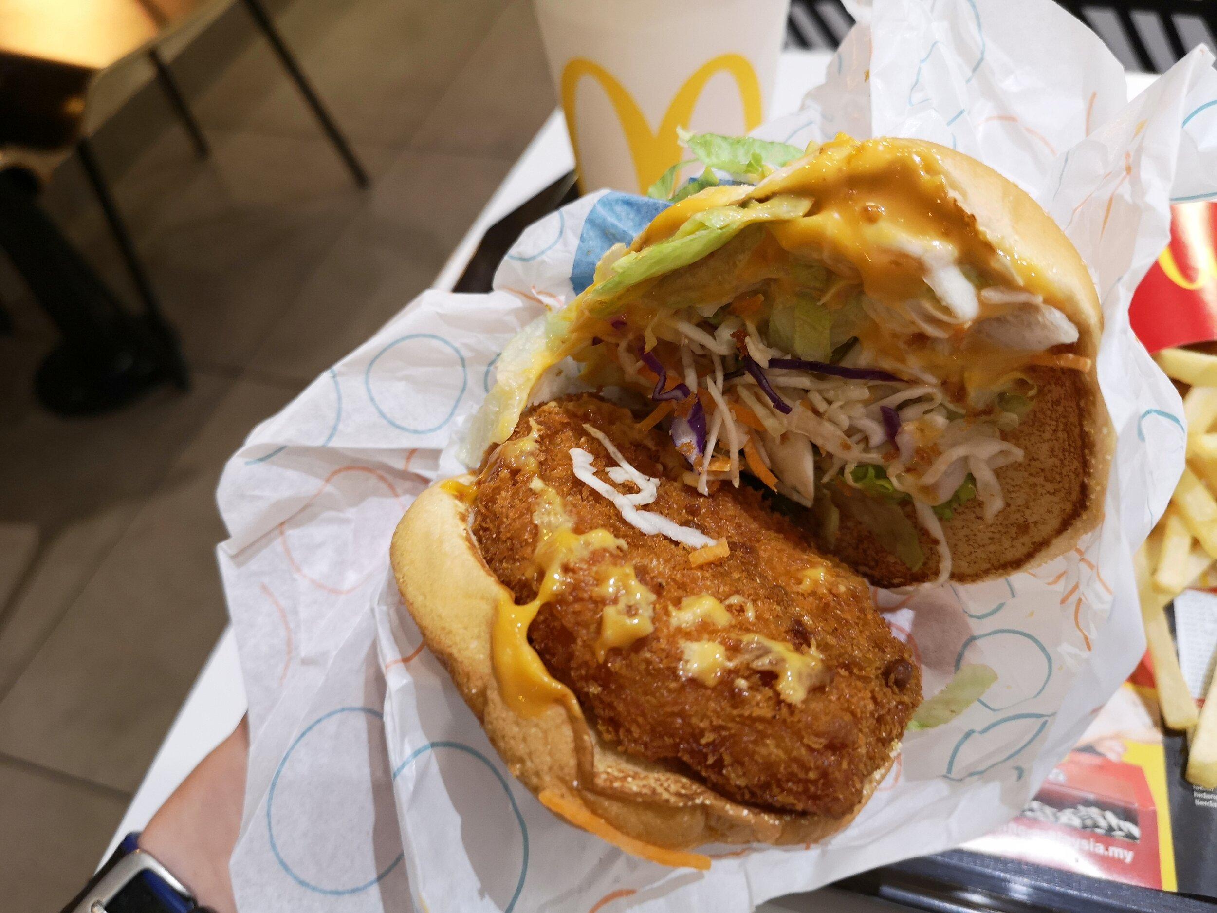 McDonald's Sweet Chilli Burger