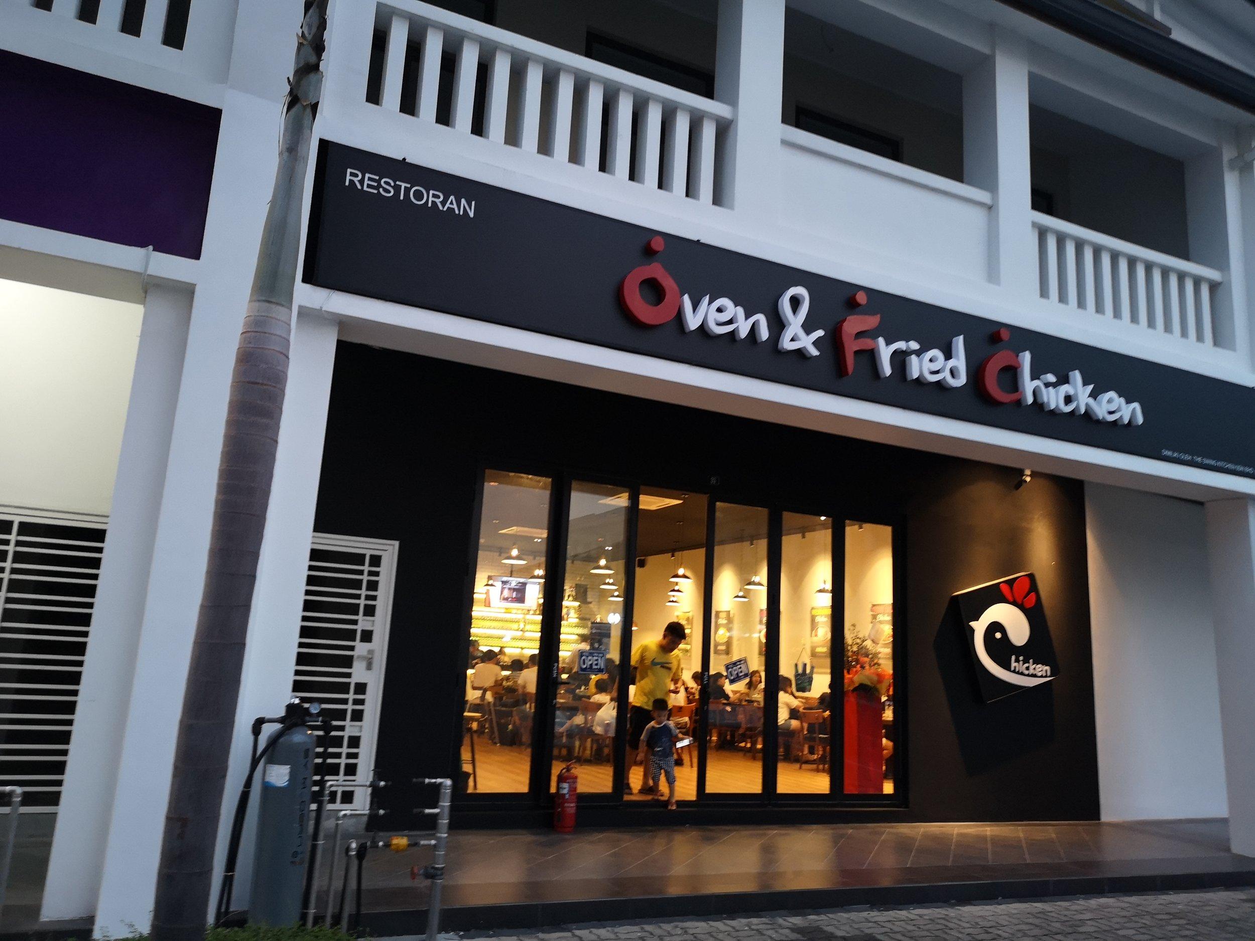Oven & Fried Chicken Korean Restaurant Eco Botanic
