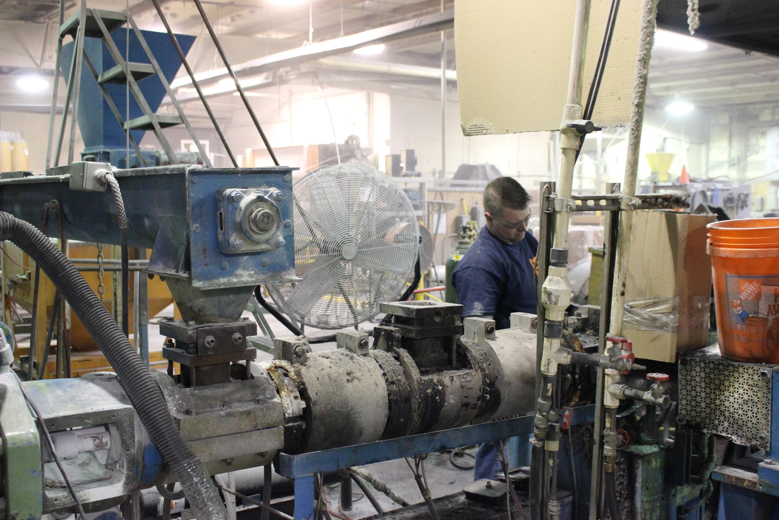 Nylon Materials Processed MDE