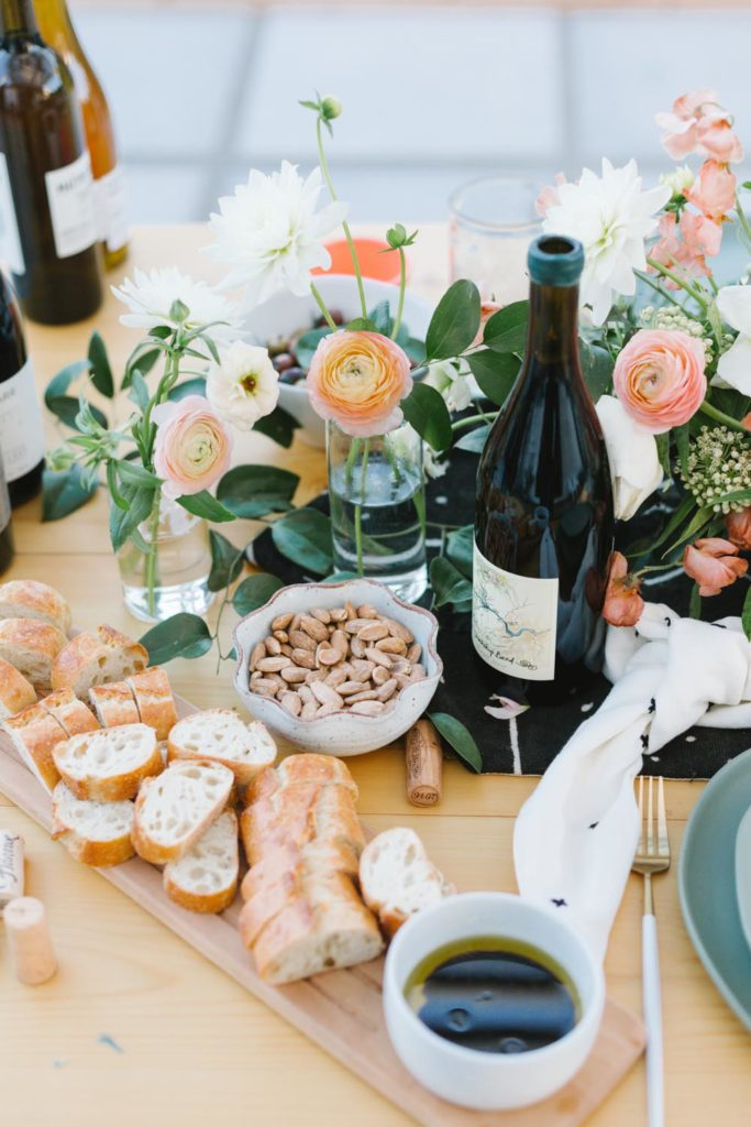 Organic Wine Night with Argaux - Featured on Beijos Events Blog