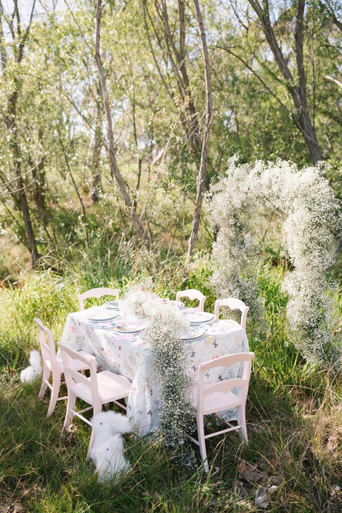 IN FULL BLOOM  - EASTER PARTY WITH POTTERY BARN KIDS + MONIQUE LHUILLIERFeatured on Beijos Events Blog