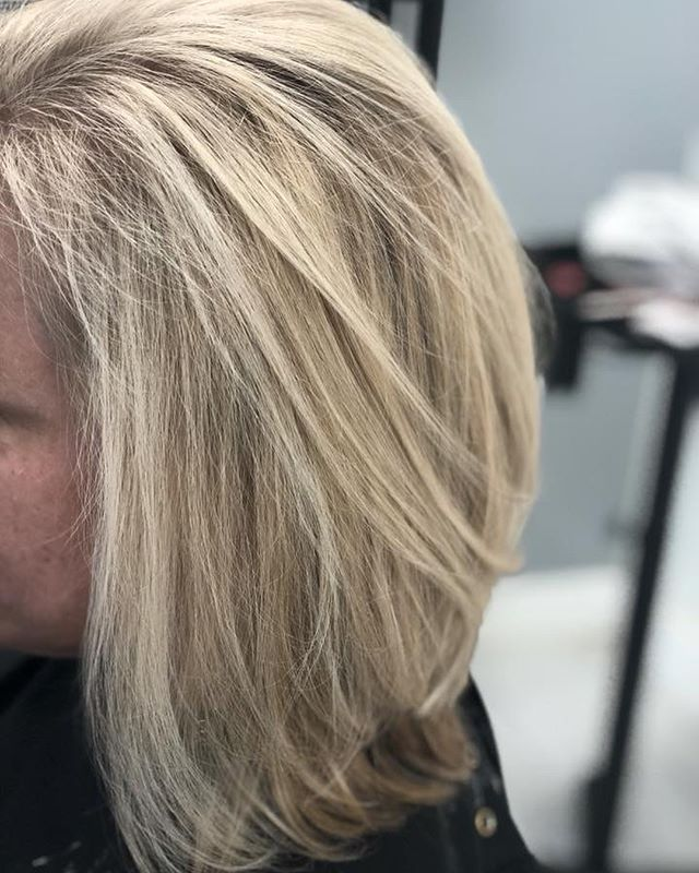 Swipe to see some of the latest blonde! #blonde #beforeandafters #ashblonde