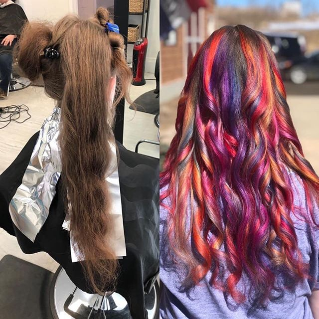 Before and After by Morgan! @hair_by_morgan_tolman