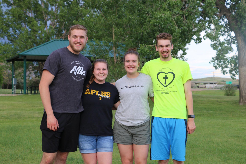 Foundation 2019: Peter Wunderlich, Annie Anderson, Julia Albright, and Brett Erickson