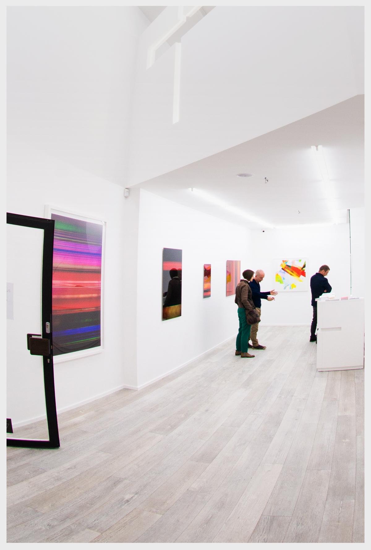 Thisplay.us exhibition, Frederic Robert Georges and Hans Verhaegen, Espace Rivoli, April 2016, Brussels.