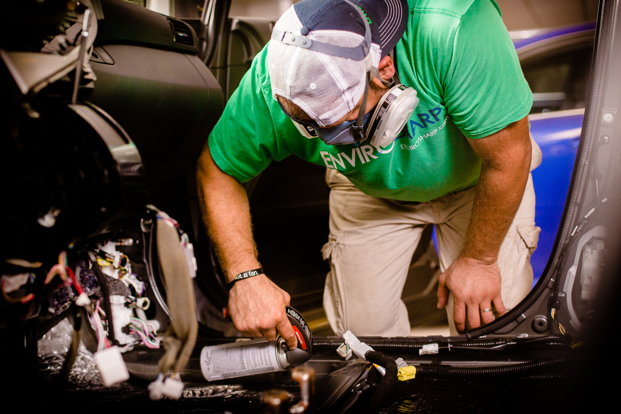 Have an auto leak creating mold?