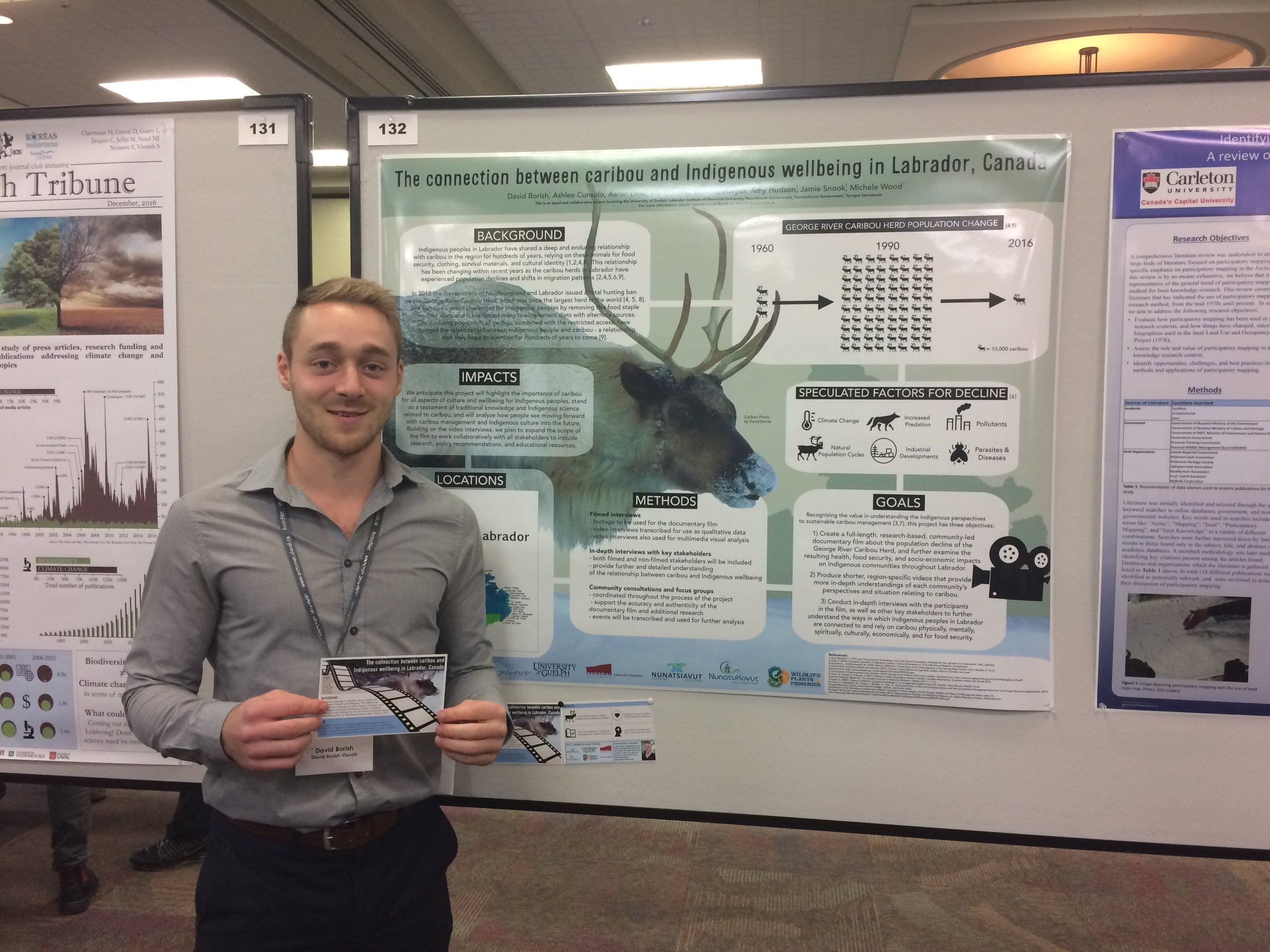 Award Winning Poster - 2016 ArcticNet ASM