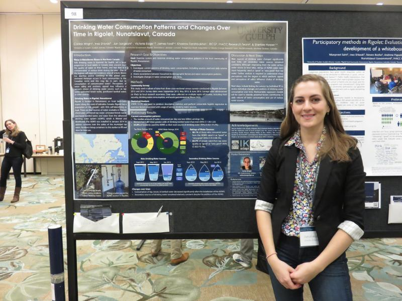 Award Winning Poster - 2015 ArcticNet ASM