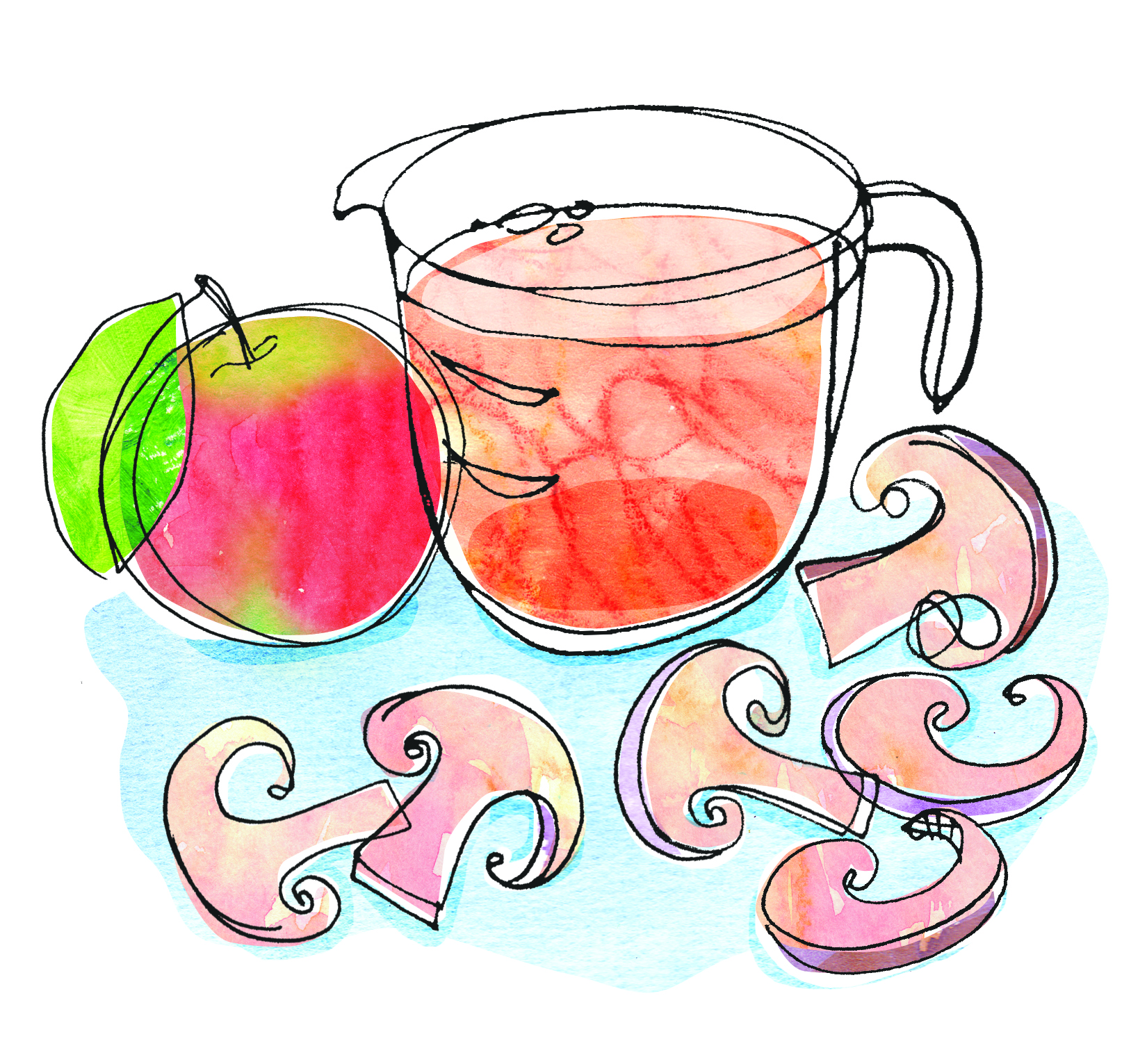 spot recipe illustration