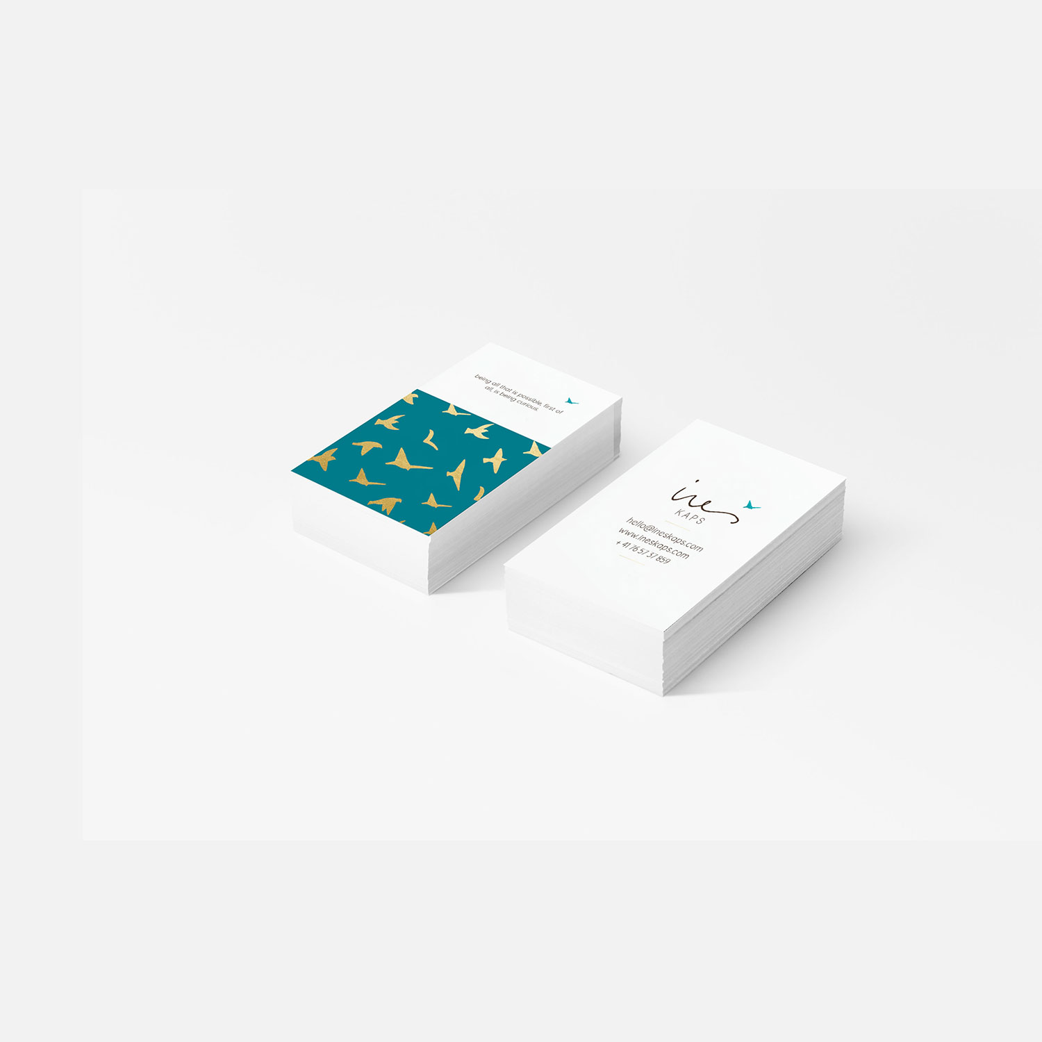 Ines Kaps business cards