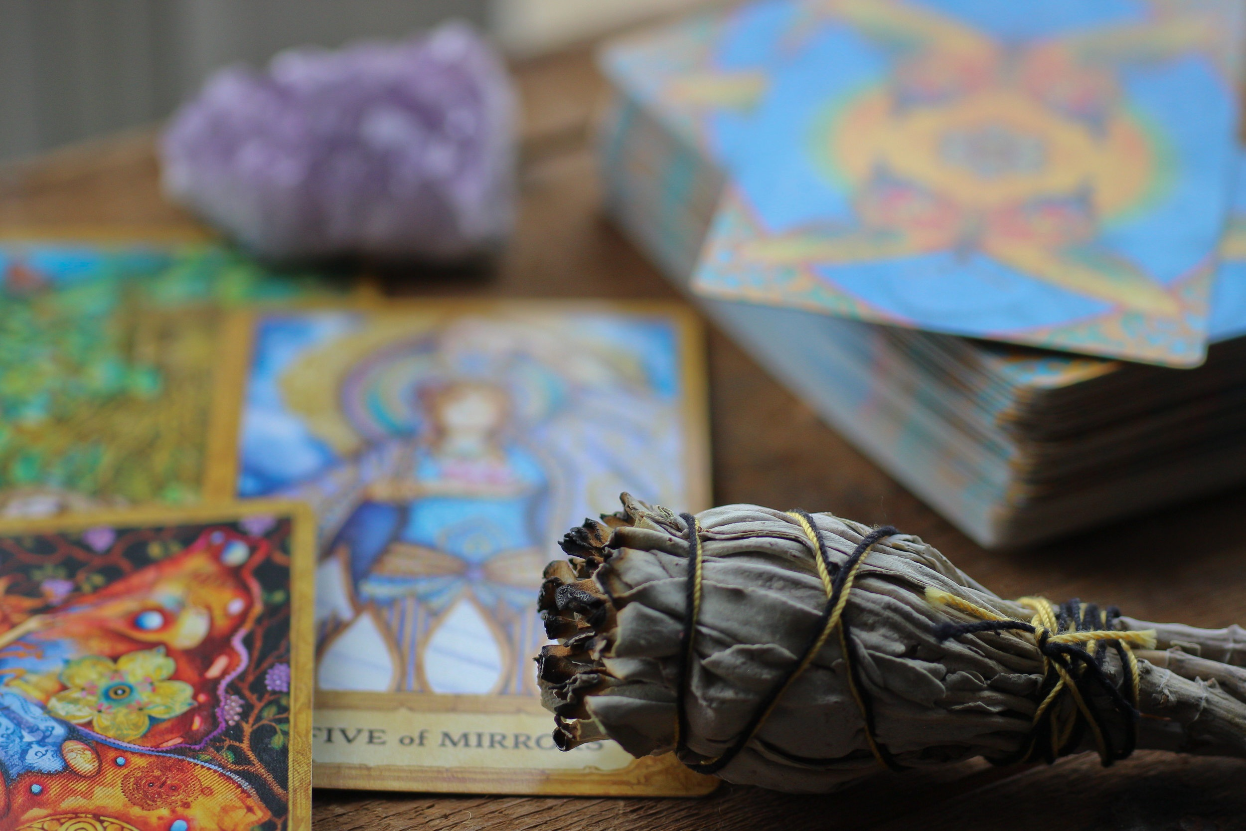 Tarot - The art of intuitive tarot can help you gain insight and clarity on the here and now