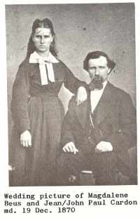 Paul and his wife, Magdalena Beus