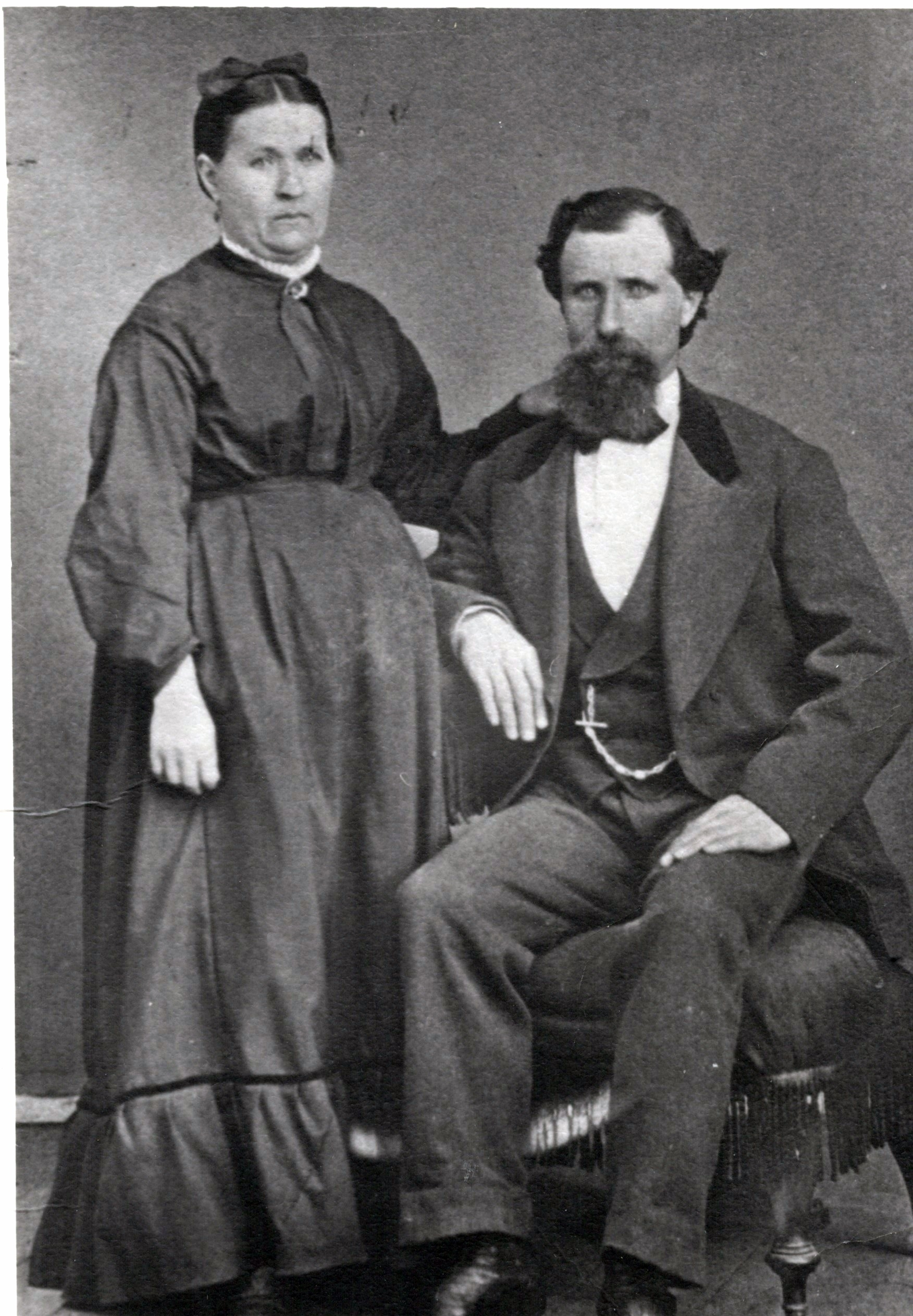 Paul and his wife, Susannah Goudin
