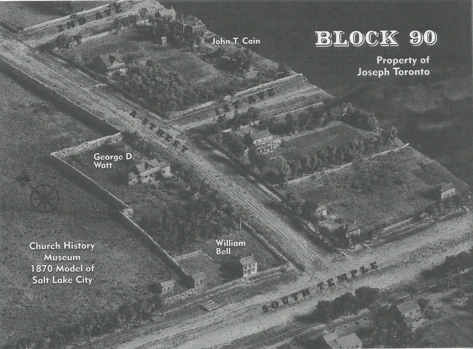 Joseph Toronto's property in Great Salt Lake City