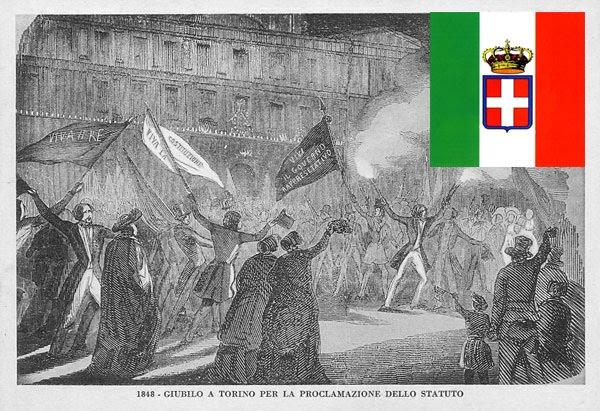 Celebrating the Statuto Albertino