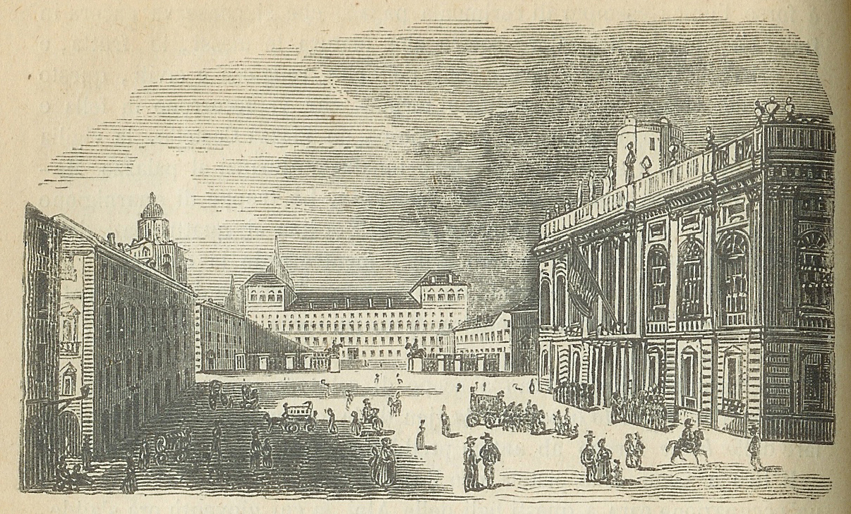 Piazza Castello in Torino