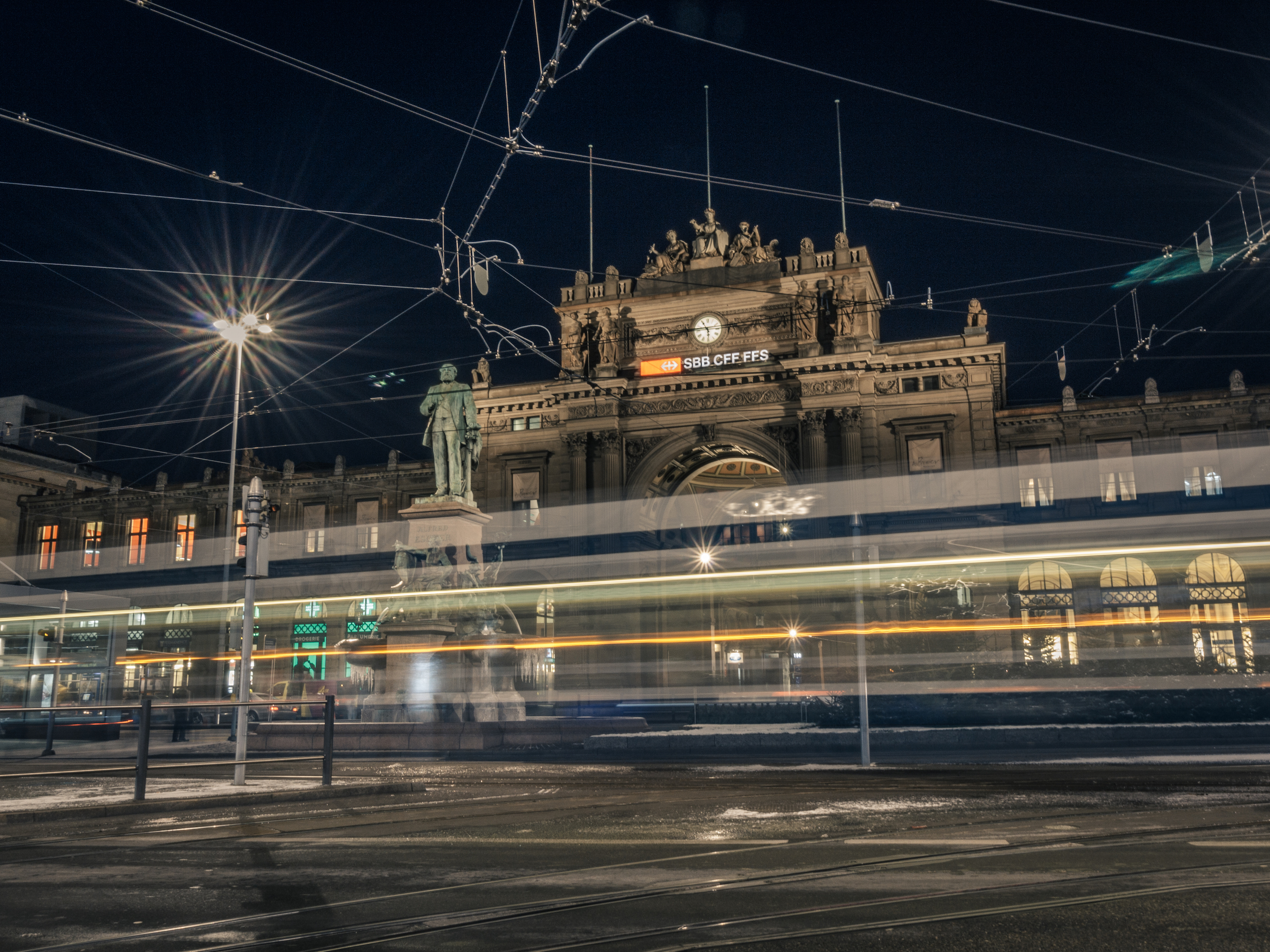 winter wonderland Zurich