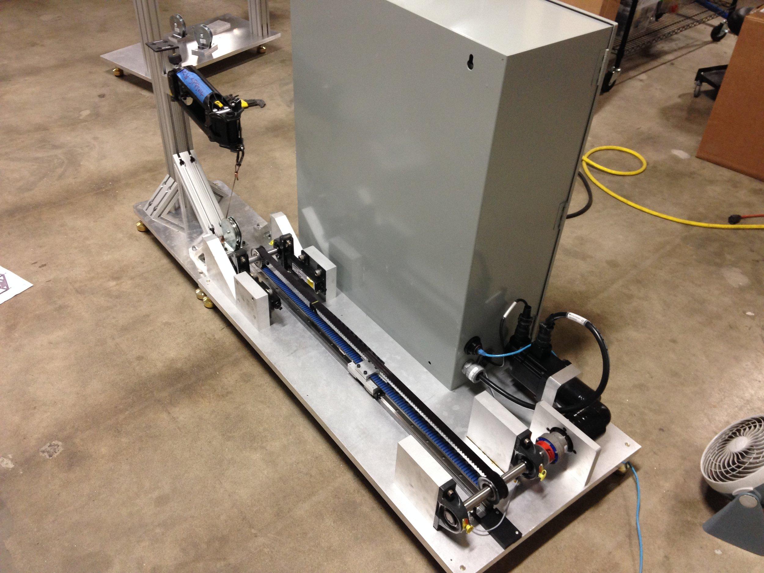 Modular Environmental Test Fixture for the Ekso ZeroG System