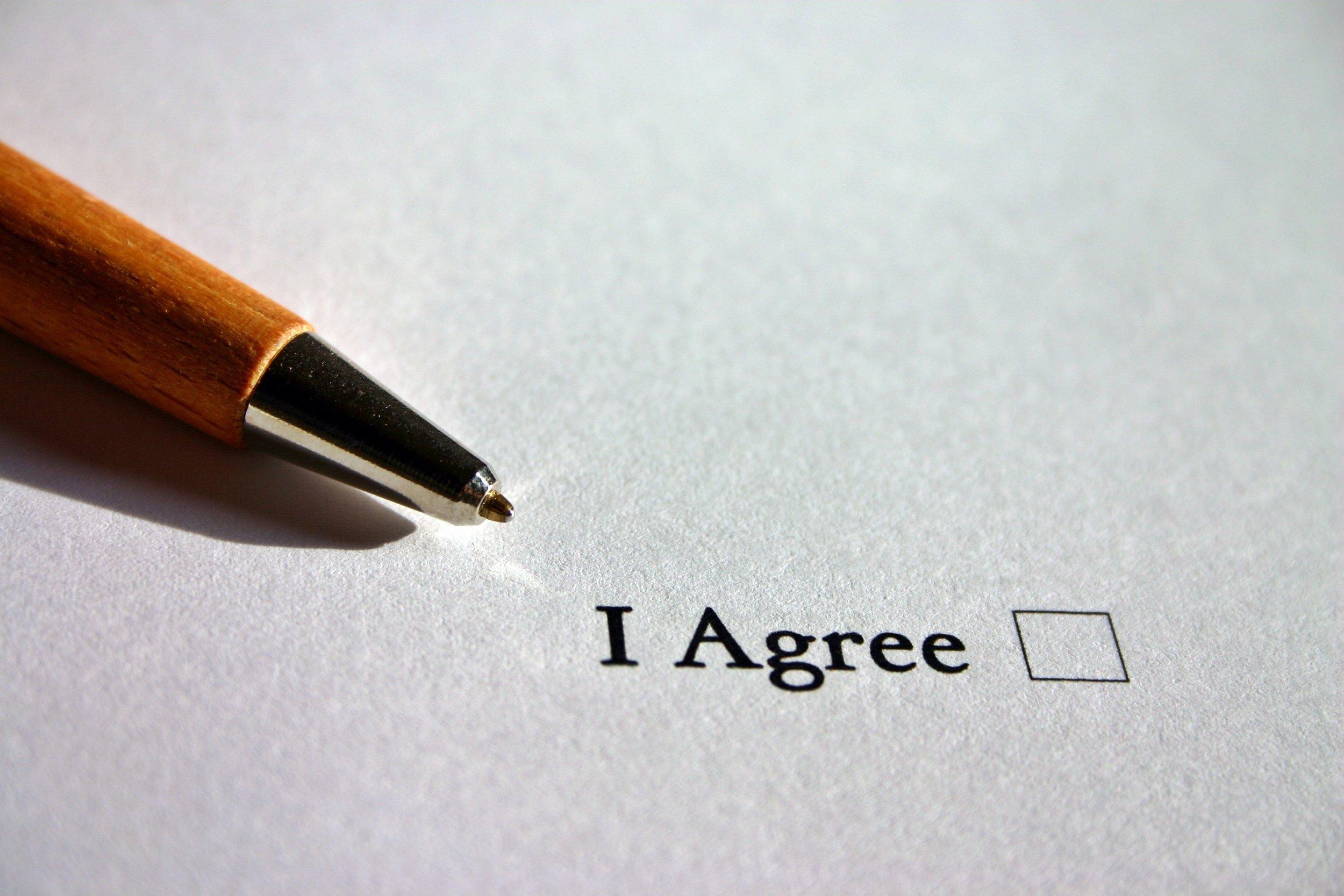 6. Concept overeenkomst - Bij overeenstemming zullen wij er zorg voor dragen dat er een concept overeenkomst op tafel komt. Wanneer hieraan nog aanpassingen gewenst zijn zullen deze zoveel mogelijk worden gladgestreken voordat het definitieve contract kan worden getekend.