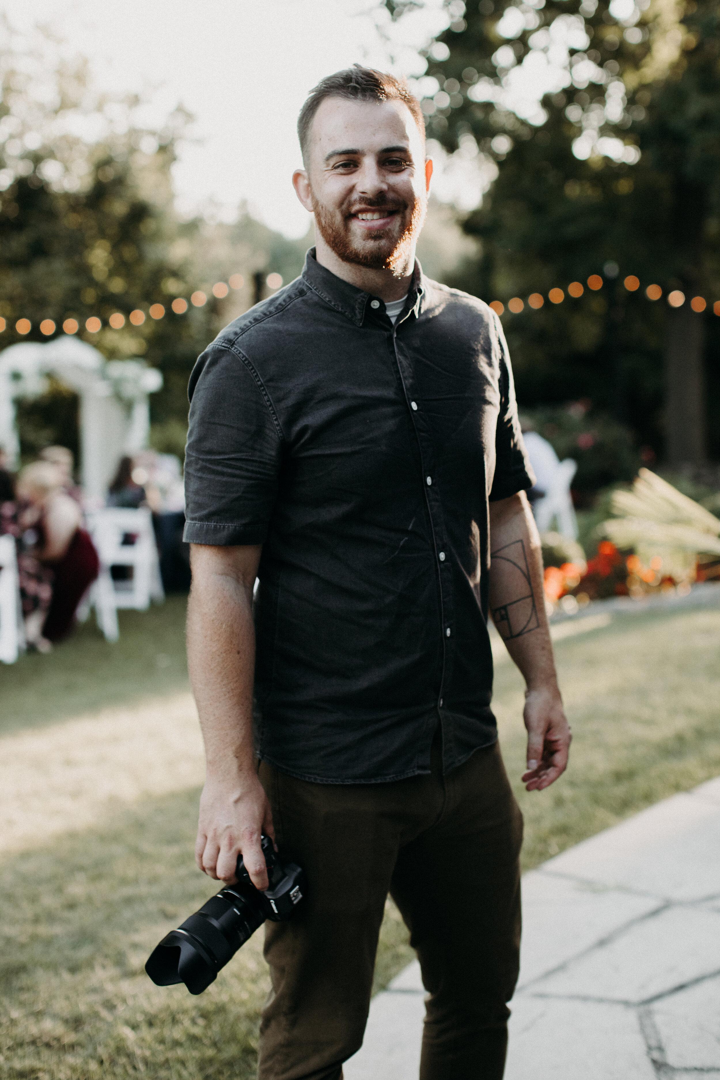 Ben Palmer, owner of Eastbourne Weddings