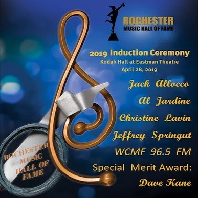 Rochester Music Hall of Fame 2019