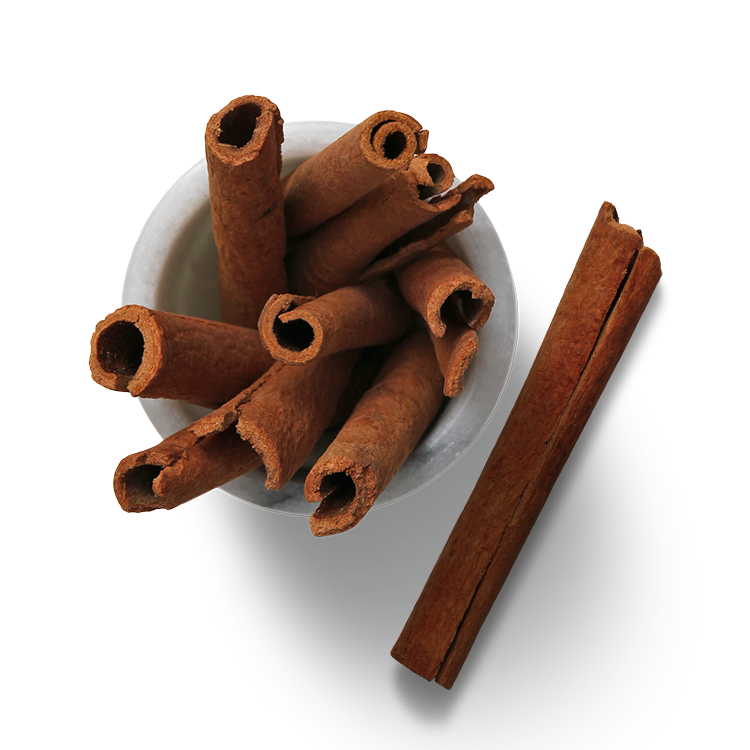 Cinnamon - + Supports the prevention of cancer, degenerative and cardiovascular diseases.+ Anti-inflammatory helps to relieve arthritis pain+ High calcium content benefits strong bone support