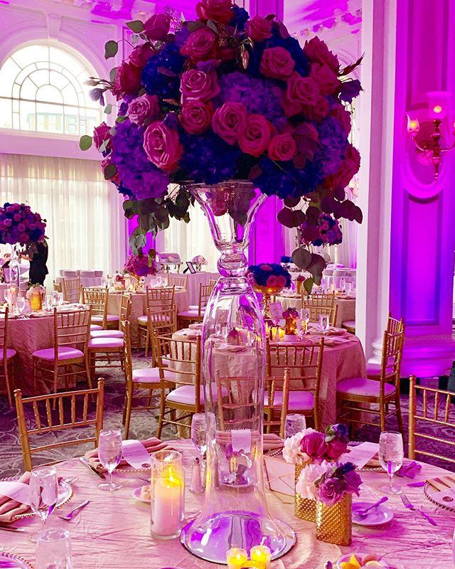 A little sneak peek of today's reception. #greatgrace2019 Florals, Decor & Design: @uniqueroseevents @angelicaunique  Day of Coordinatior: @soireesbylee  Venue: @georgianterrace . . . . . . . #eventplanners#eventplannerlife#atlantaweddingplanner#atlwedding#atlantaweddings#atlantaevents#atlantabride#bride2019#atlantabrides#atlevents#wedding2019#workshop#planners#designer#venues#floral_secrets#flores🌸#atlantaweddingplanner#freshflower#eventdesigner#flowerarrangements#atlantaeventplanner#eventmanagement#weddingflow#blackbride#munaluchibride#weddingvibes#floristsofinstagram