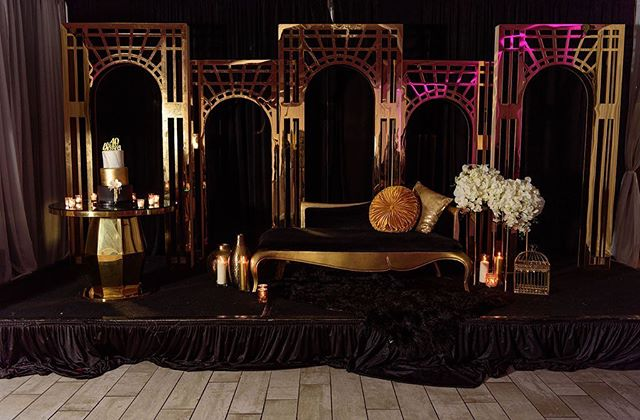 Golden art deco arches and a velvet chaise lounge await our blessed 40th birthday girl! Do you have a milestone birthday coming up?? Let us help you make it memorable. Click the link in the bio to schedule a consultation with us. #greatgrace2019  Photography: @crystal_artis  Planner: @el_presidente09  Co Planner, design, Decor, & Florals: @uniqueroseevents @angelicaunique  Rentals: @georgia_party_rentals  Cake: @dessert_fix  Photo Booth: @taraharpphotography  Venue: @rendezvouseventcentre  Balloon Wall: @beholdballoons . . . . . . . #eventplanners #eventplannerlife  #atlantaweddingplanner #atlwedding #atlantaweddings #atlantawedding #birthdayqueen #birthdayking👑 #atlantaevents #atlantaevents #birthday🎂 #40thbirthdayparty #40yearsold #birthdaypartyideas #birthdayfavors #birthdaydecor #decorando #artdecoring #artdecointerior