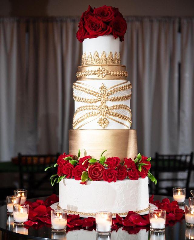 We say yes to this cake by @cakesbylameeka #GreatGrace xoxo Photography: @taraharpphotography Planner, Decor, Design and Florals: @angelicaunique @uniqueroseevents  Cake: @cakesbylameeka DOC: @soireesbylee  Venue: @chale_gardens . . . . . . . #imgettingmarried#soontobemrs#gettinghitched#tyingtheknot #imegaged#weddingparty#weddingflow #blackbride#munaluchi#weddingvibes#herecomesthebride#bridestobe #bride2be#bridetobe2019#bridalinspo #modernbride#blackbride1998#heputaringonit#theknotweddings#aisleperfect#thedailywedding #atlbride#weddingbliss#hitched #weddedbliss#engagedlife#weddingtips #justengaged#engagedlife