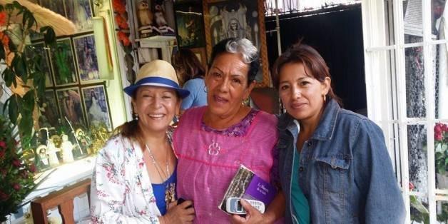 Doña Queta and Enriqueta Vargas