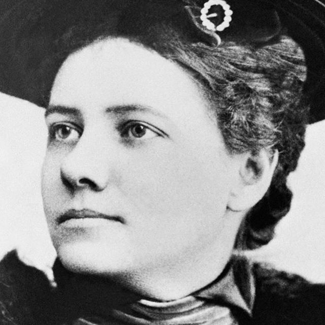 "Episode 72, witches! (Okay, it's actually 71 but this badass went around the world in 72 days so we honor her! 😎) Today, @msdeannaelise and @hannahfergesen discuss the incredible life of journalist Nellie Bly. This fearless, tenacious, feisty, tireless crusader basically invented undercover investigative journalism. One of her most famous exposés, penned when she was a seasoned reporter at the ripe age of 23 (!), was ""Ten Days in a Madhouse"". She pretended to be mentally ill and was placed into Blackwell's Island asylum (believe us, it's wild how easy it was for her to get in), where she witnessed horrifying conditions and treatment of patients. She dropped her act after two days in the facility, and they treated her with even more suspicion... She also trekked around the world in 72 days in honor of Phineas Fogg's fictitious journey in Jules Verne's ""Around the World in 80 Days""! There's so much more to be said, but why don't you just hop on over to where you get your podcasts and find out for yourself! • • #goodwitchesbadbitches #gwbbpodcast #podcast #womenwhopodcast #feminist #feminism #womeninjournalism #journalism #reporter #american #nelliebly #investigator #asylum #badasswomen #bossbabe"