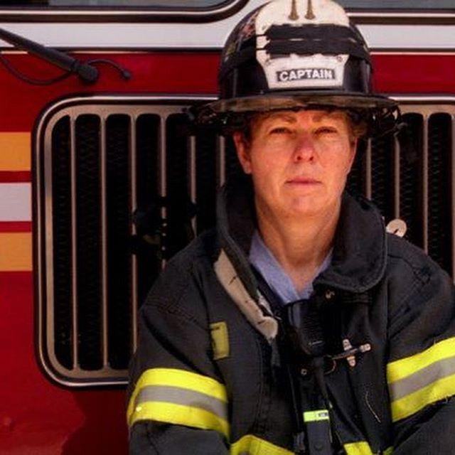 Episode 76, witches! This week, @hannahfergesen and @msdeannaelise talk about trailblazer and American hero Brenda Berkman. This woman has spent her life tirelessly fighting for women's rights. She is a lawyer and an artist, but she also happens to be among the first women to be in the @fdny - thanks to her lawsuit that proved standards in the physical test were biased to keep women out. She was also among the courageous and compassionate first responders during the 9/11 attacks in NYC. She retired from the FDNY as a Captain in 2006; she continues her fearless advocacy for gender equality today, and also expresses her experiences as a visual artist. Today, we honor her. • • #goodwitchesbadbitches #gwbb #podcast #womenwhopodcast #feminist #feminism #fdny #history #herstory #wcw #witchywednesday #brendaberkman #firefighter #femalefirefighter #badasswomen #911 #american #neverforget