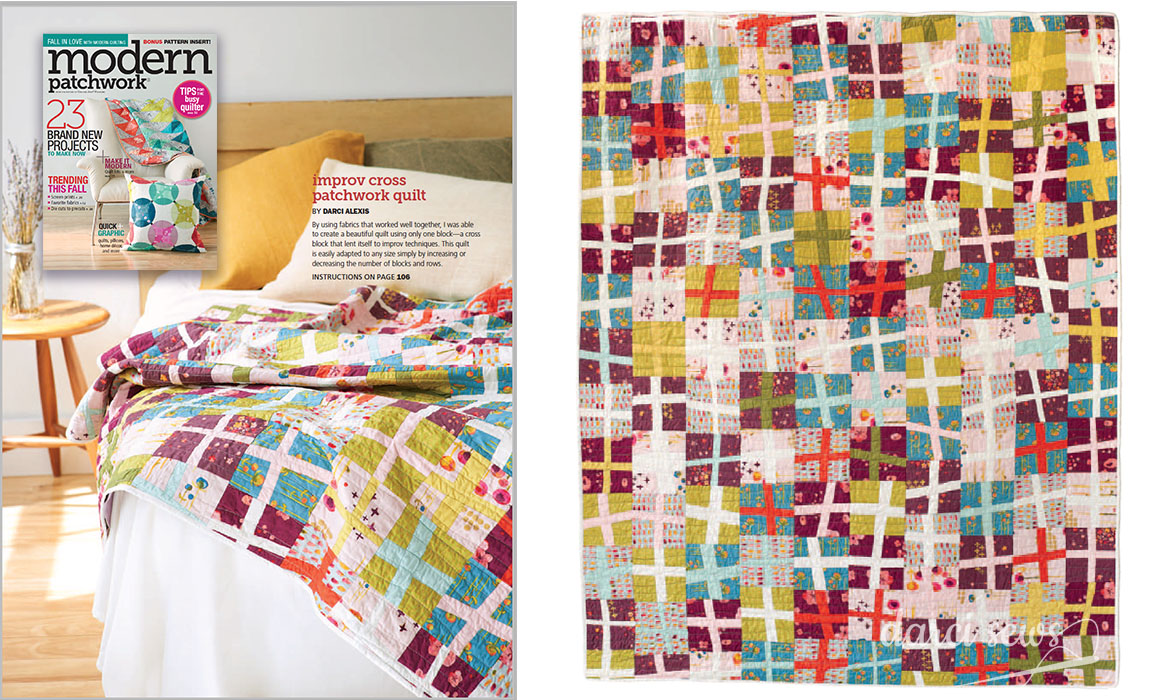 Magazine spread from Modern Patchwork