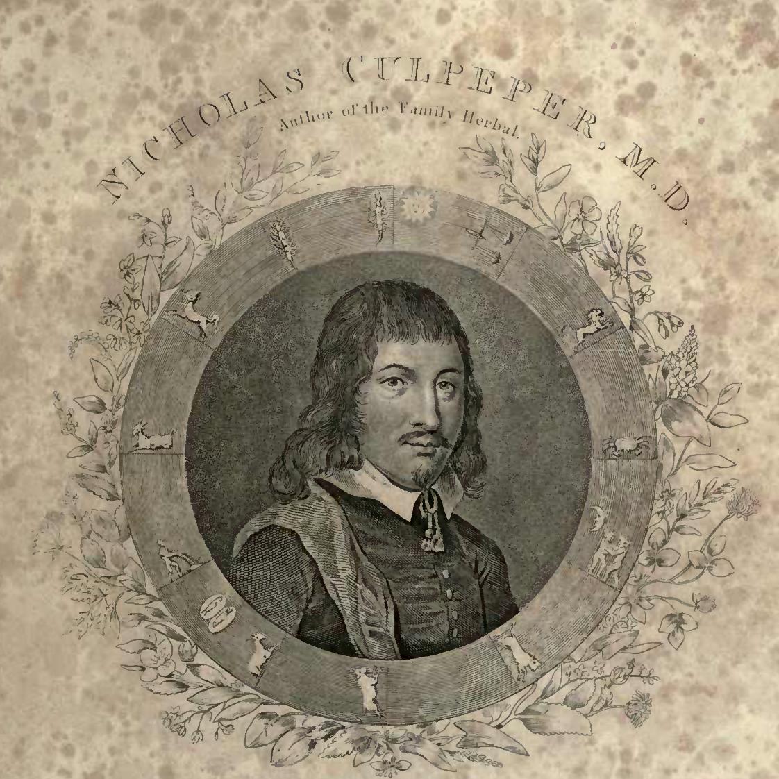 Nicholas Culpeper, legend.
