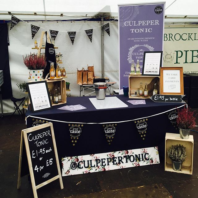 Final day today at Clumber Park Food and Drink Festival. Come visit us to try our tonics and pick up some great deals. #ginandtonic #gin #tonicwater #foodie #foodies