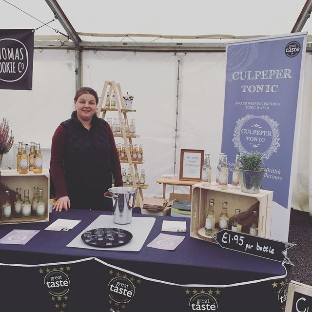 Up and ready to go for day 2 of the #meltonmowbrayfoodfestival. Pop along and try our tonic waters #tonic #gin #ginandtonic