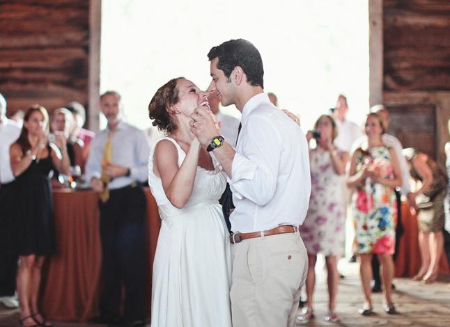 Newlyweds Katie Flynn and Mo Khalil (Flynn/Khalil wedding, Ancramdale)