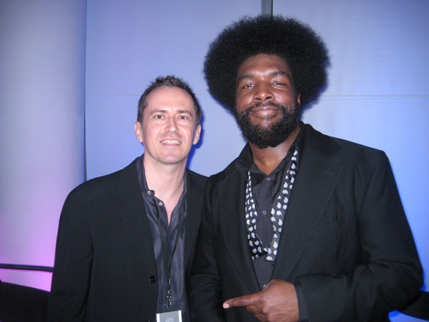 DJ Andy Anderson and The Roots' Questlove (Private Sessions w/ John Legend and The Roots)