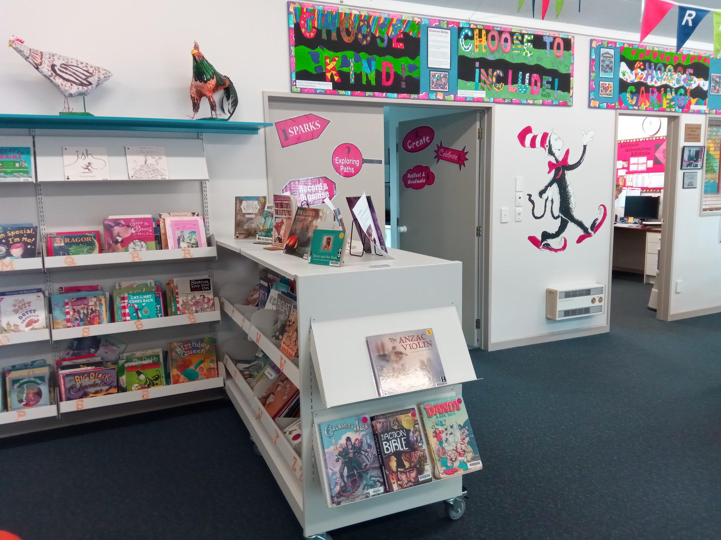 Tauriko School Library rollaway.jpg