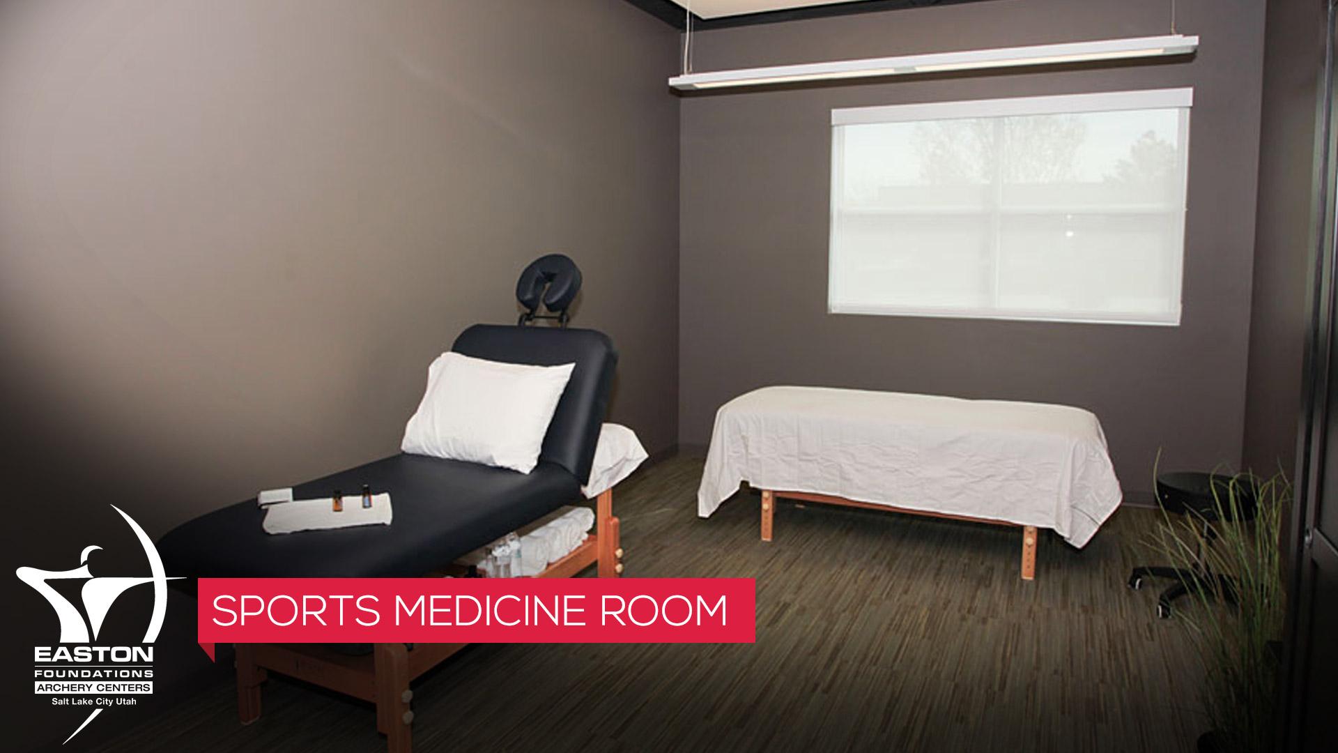 sports medicine room