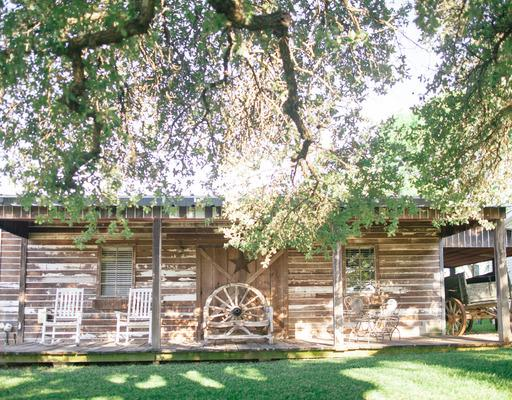 Lone Star Cabin - Entire cabin · 1 bed Lone Star Cabin is a rustic, yet elegant, spacious one room cabin with a comfortable front porch, full kitchen, fireplace, and queen bed. Most notable is the large, luxurious bath with a jacuzzi tub. It is perfect for a romantic getaway or secluded Sabbath rest. [Accommodates 1-2 people]
