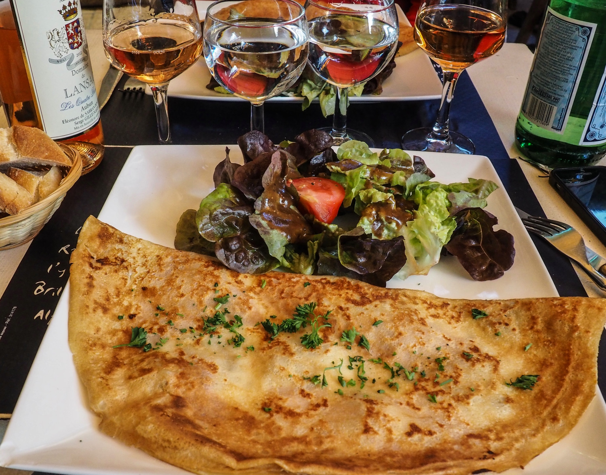 French Omelette, Le-Baux-de-Provence, France