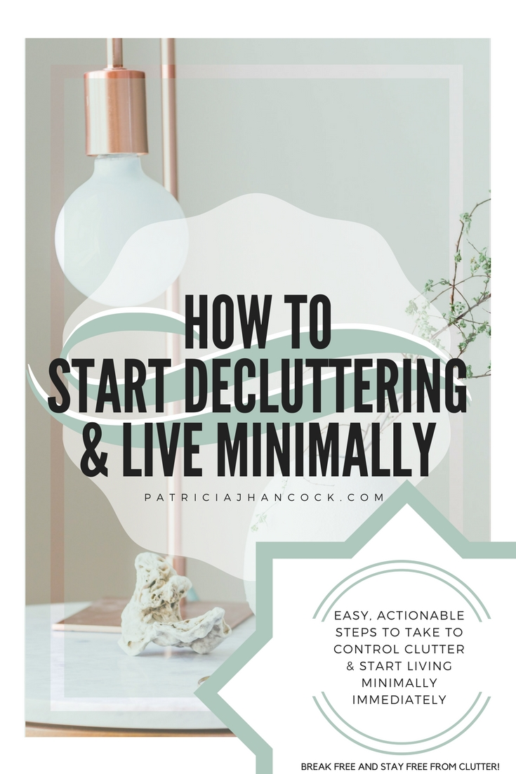 How to Start Decluttering and Live Minimally. How to start living minimally immediately using this article to begin decluttering and prioritizing the items in your home. We'll talk about easy steps to begin your journey to start living a minimal, intentional life.