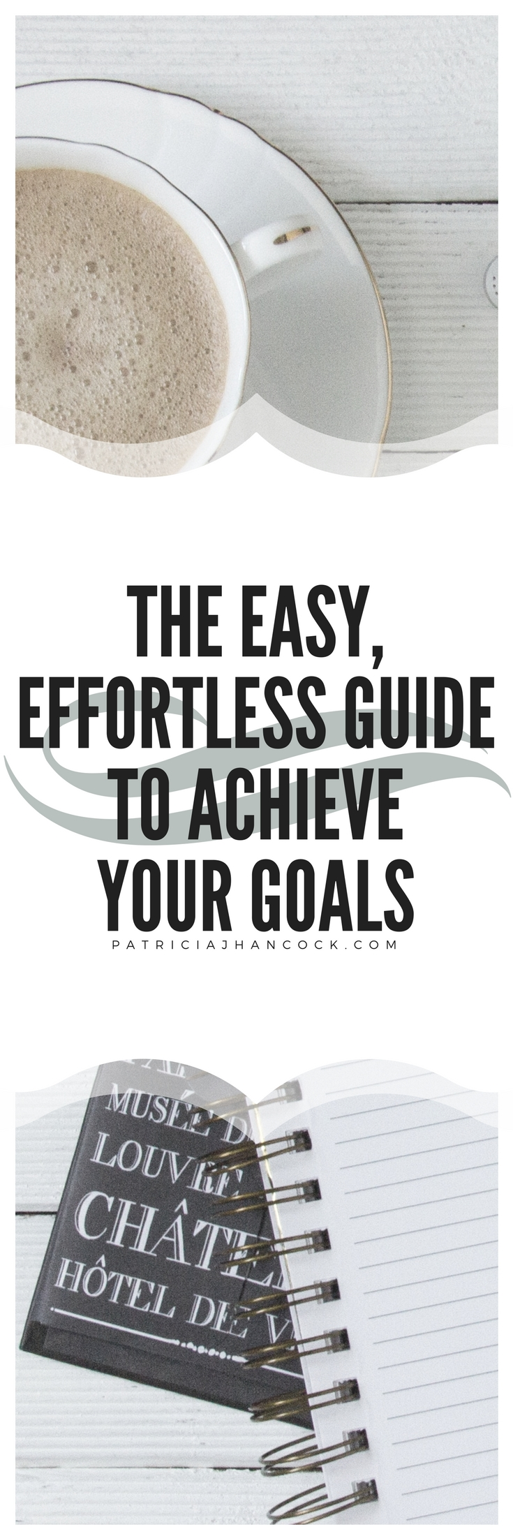 An easy guide on action steps to take today to achieve your goals, no matter how big or how small! This guide will give you the motivation and tips to get through the toughest times when you're not seeing the results from your efforts. No goal stands a chance against this guide!