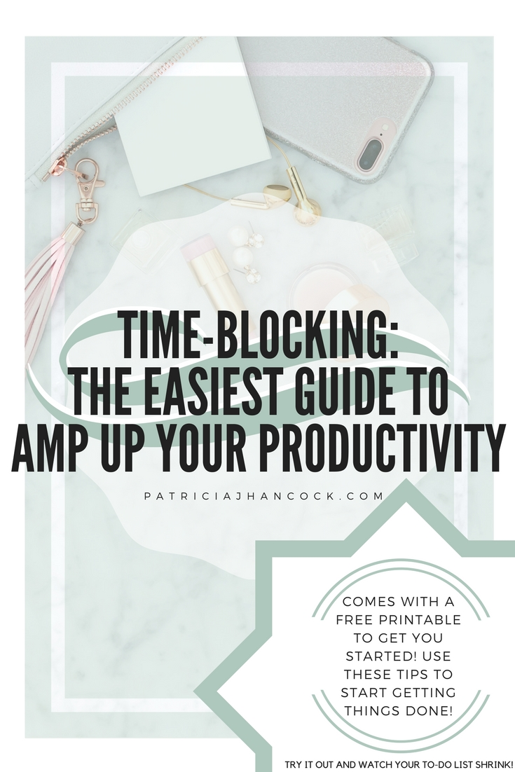 An easy guide to Time Blocking with a free printable worksheet to get you started on the right foot! Check out the secret to what many successful entrepreneurs say is their number one productivity boost to getting their tasks 100% done. For the people who hate to-do lists, try this type of schedule planner!