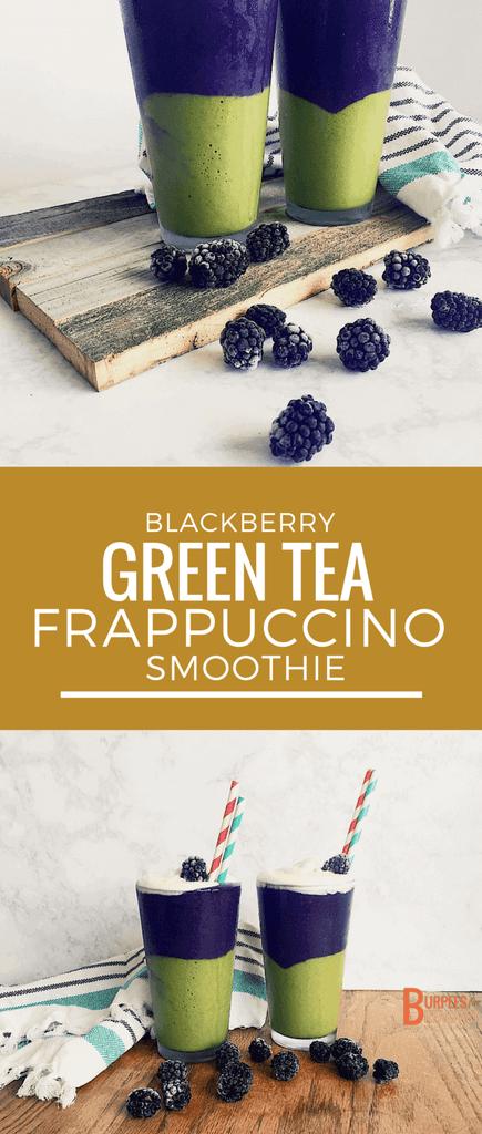 Blackberry Green Tea smoothie -