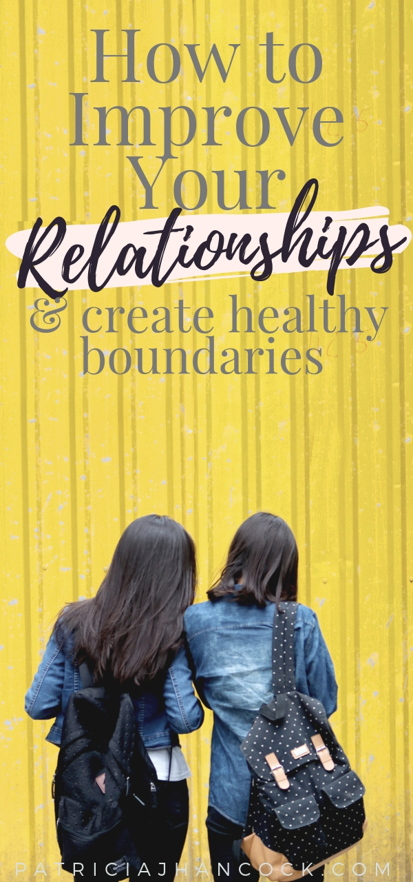 Healthy boundaries are apart of any self-care routine. These 5 easy ways will help you create healthy boundaries for lasting relationships, as well as improving the relationships that you have you have. #selfcare #relationships #boundaries #personalgrowth