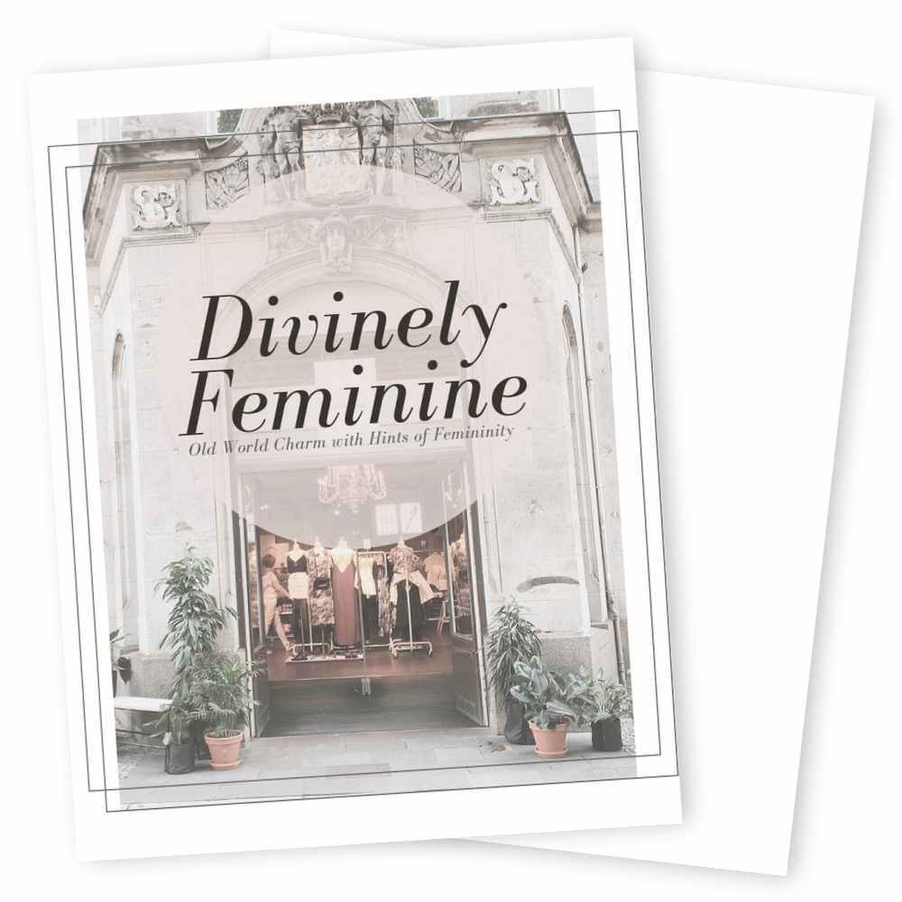 Divinely Feminine Series - Enrich your clients in a luxurious experience with the Divinely Feminine series, our signature series for women entrepreneurs who want elegance and regality in their brand.Inspired by the small streets of Paris, Divinely Feminine offers soothing, muted colors to welcome in your clients to your brand's experience.Inside each template, your brand has it all to start giving your clients an experience they'll never forget.