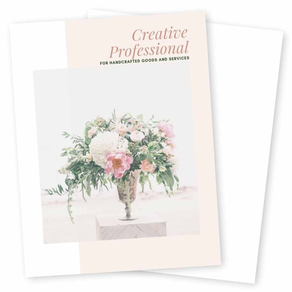 Creative Professional Series - We teamed up with several creatives in the service based business to bring you our most versatile, elegant series yet: the Creative Professional Series.Boasting bold, contrasting colors, Creative Professional is for the creative woman who wants to showcase their skills to their clients with elegance and professionalism.When it comes to delivering your message, Creative Professional is designed to bring your client's attention in all the right places.