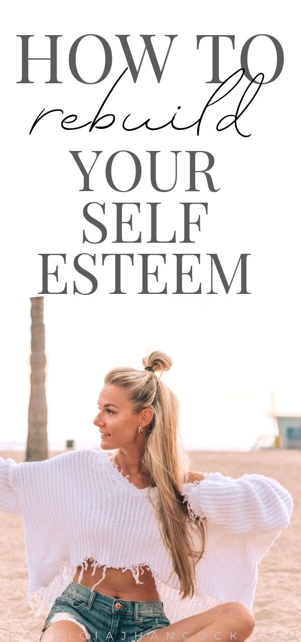 In this article, you'll learn how to rebuild your self-esteem and how to create a positive self image for yourself. We'll go over what changes you can make to help with low self worth, as well as positive affirmations to boost your self esteem. #selfimage #selflove #selfimprovement #selfesteem #selfcare